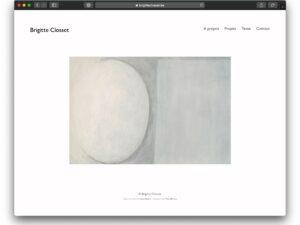 Site Brigitte Closset